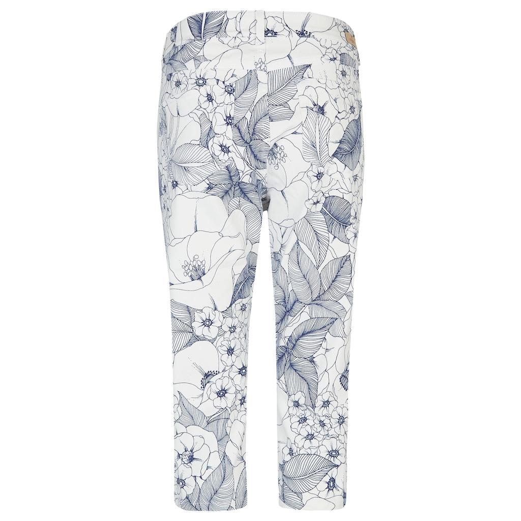 ANGELS Jeans,Anacapri' mit femininem Blumenmuster