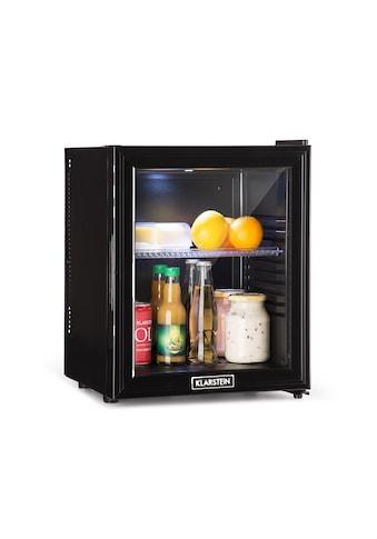 Klarstein Kühlschrank A LED Kunststoff - Einsatz Glastür schwarz »Brooklyn 24L« kaufen