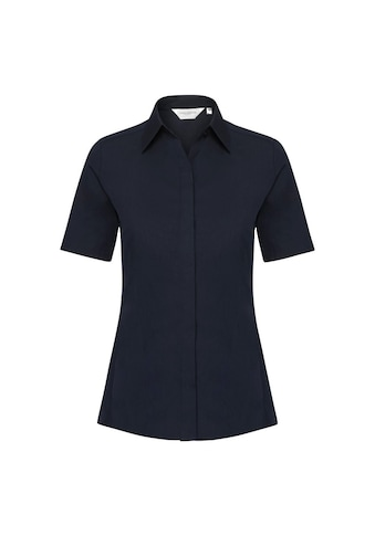 Russell Kurzarmbluse »Damen Bluse / Stretch-Bluse / Arbeitsbluse, kurzärmlig« kaufen