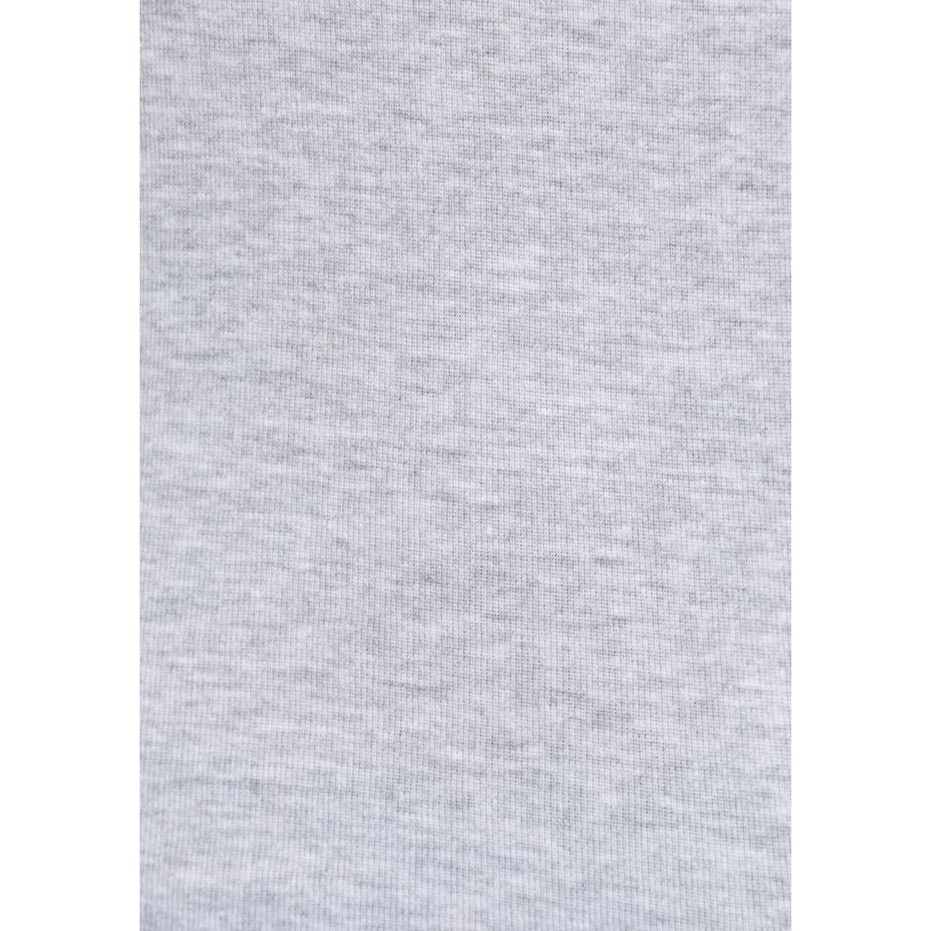 KangaROOS Ripptanktop, mit blumigem Puff-Print