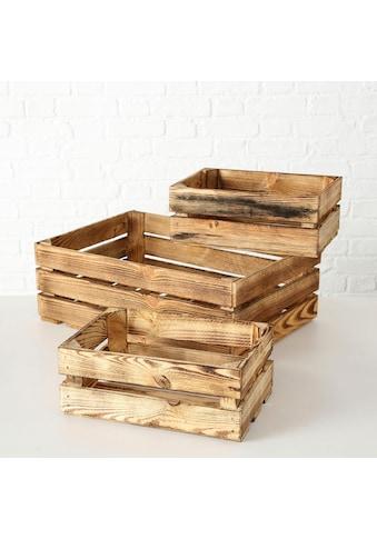 BOLTZE Dekokiste »Porto« (Set, 3 Stück) kaufen