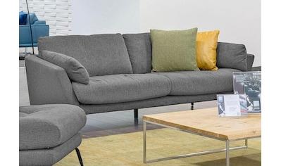 W.SCHILLIG 2,5-Sitzer »softy«, mit dekorativer Heftung im Sitz, Füße schwarz... kaufen