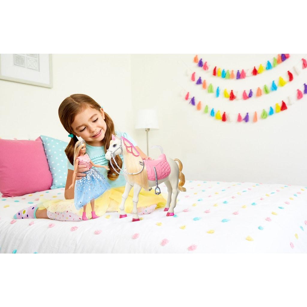Barbie Anziehpuppe »Prinzessinnen Abenteuer Tanzendes Pferd«, mit Licht und Sound