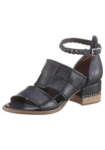 A.S.98 Sandalette »MORAINE«, mit schönem Flechtmuster kaufen