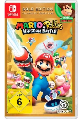Mario & Rabbids Kingdom Battle Gold Edition Nintendo Switch kaufen