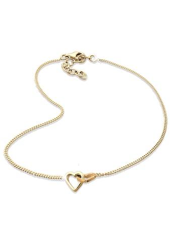 Elli Fußkette »Herz ewige Liebe 925 Sterling Silber« kaufen