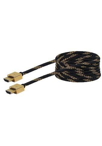 Schwaiger High Speed HDMI Kabel mit Ethernet, 4K, Full HD, 3D Ultra HD »Flachkabel,... kaufen