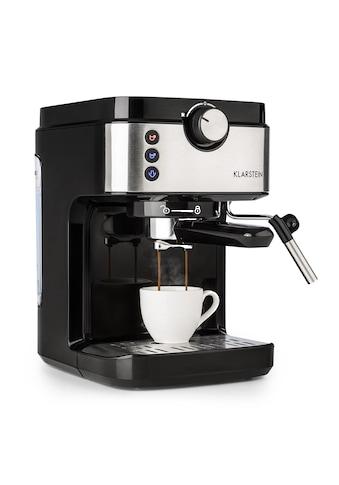 Klarstein Espressomaschine 20Bar 1575W 900ml kaufen