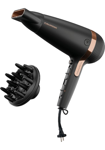 Grundig Ionic-Haartrockner »HD 7081«, 2100 W, 2 Aufsätze, NaturaShine kaufen