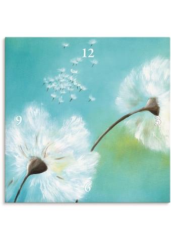 Artland Wanduhr »Pusteblumen«, lautlos, ohne Tickgeräusche, nicht tickend, geräuschlos... kaufen