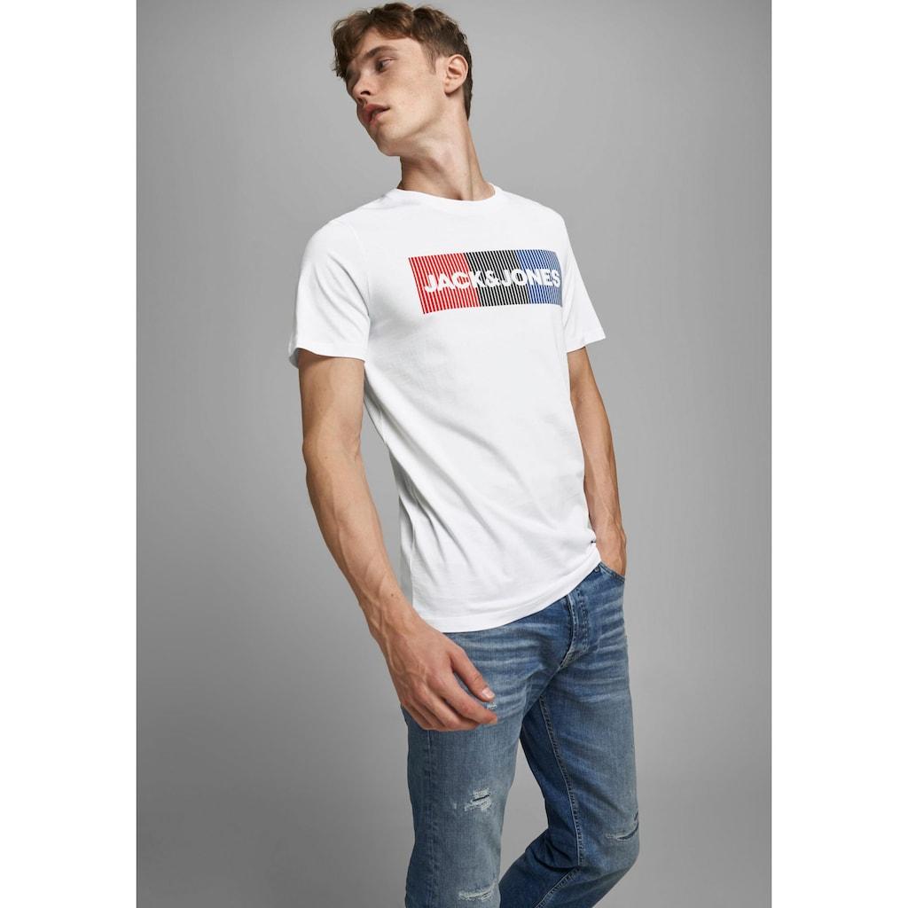Jack & Jones T-Shirt »CORP LOGO TEE«, mit Logoprint