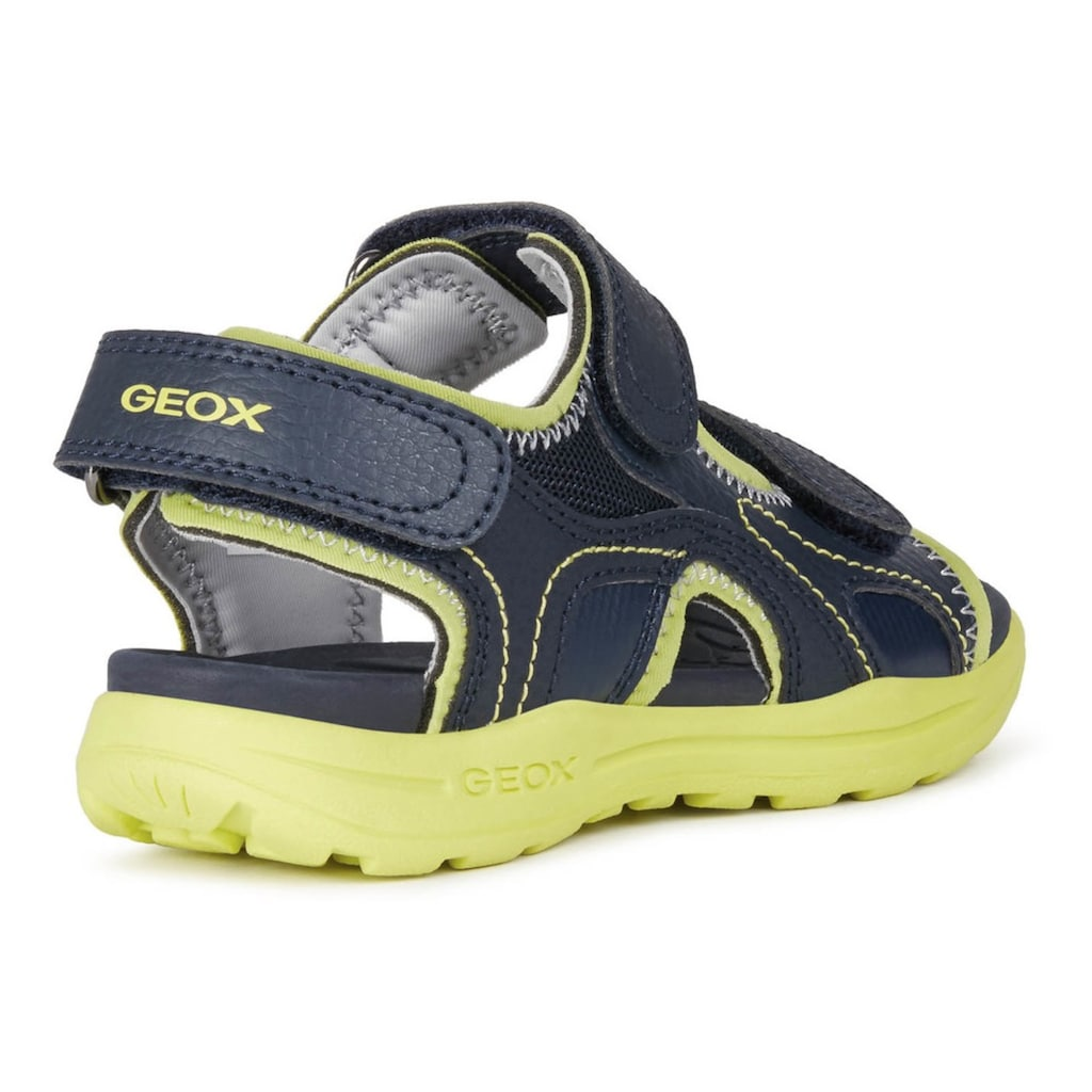 Geox Kids Sandale »VANIETT BOY«, mit drei Klettverschlüssen
