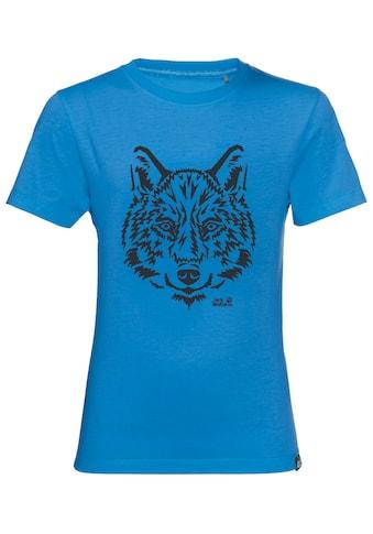 Jack Wolfskin T-Shirt »BRAND T KIDS« kaufen