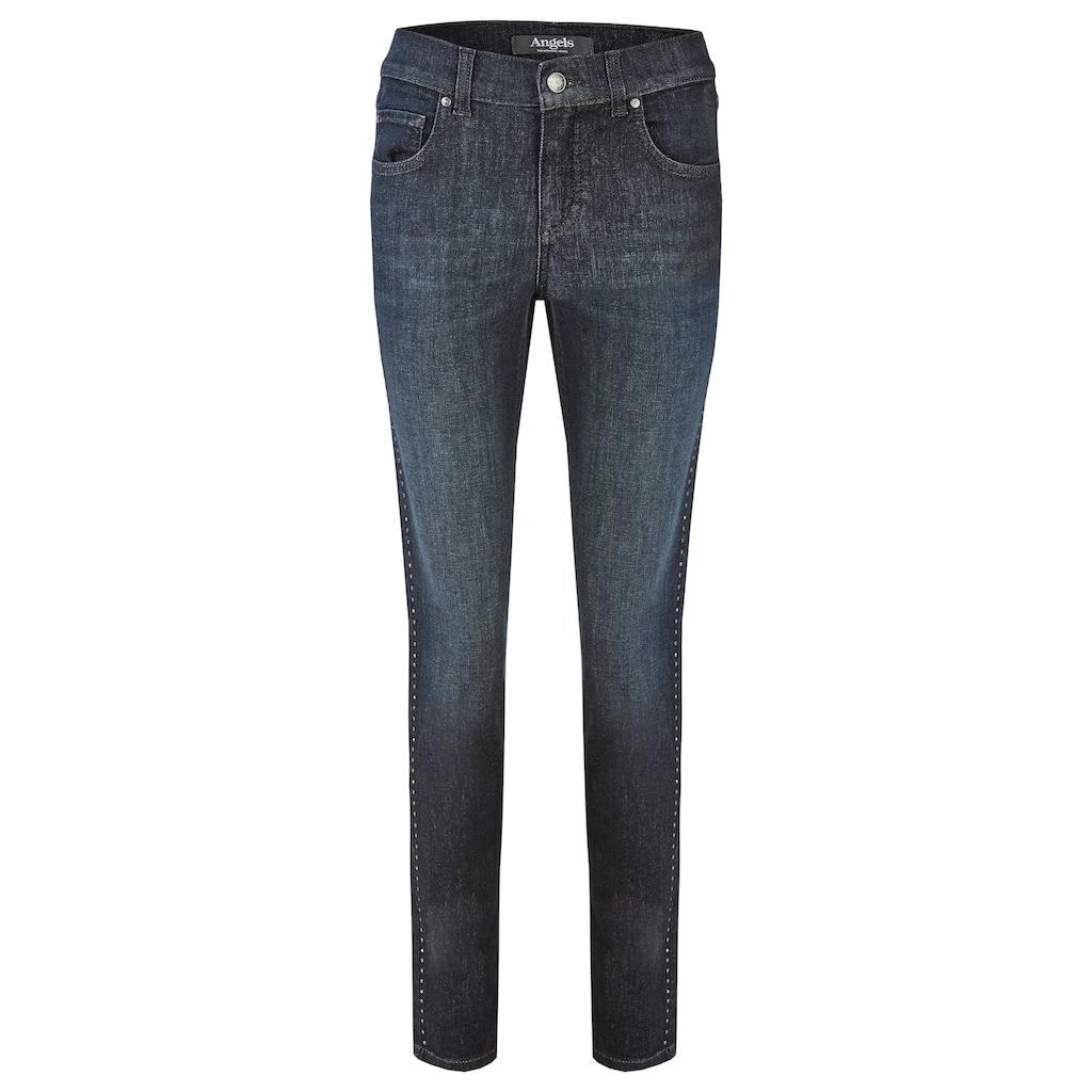 ANGELS Jeans 'Skinny Galon' mit Nieten