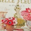 Ambiente Haus Übertopf »Fleur-Tasche aus Metall«, (1 St.)