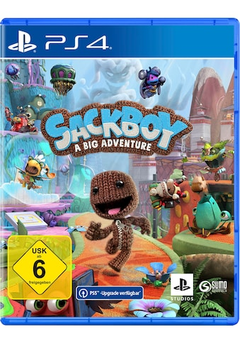 PlayStation 4 Spiel »Sackboy: A Big Adventure«, PlayStation 4 kaufen