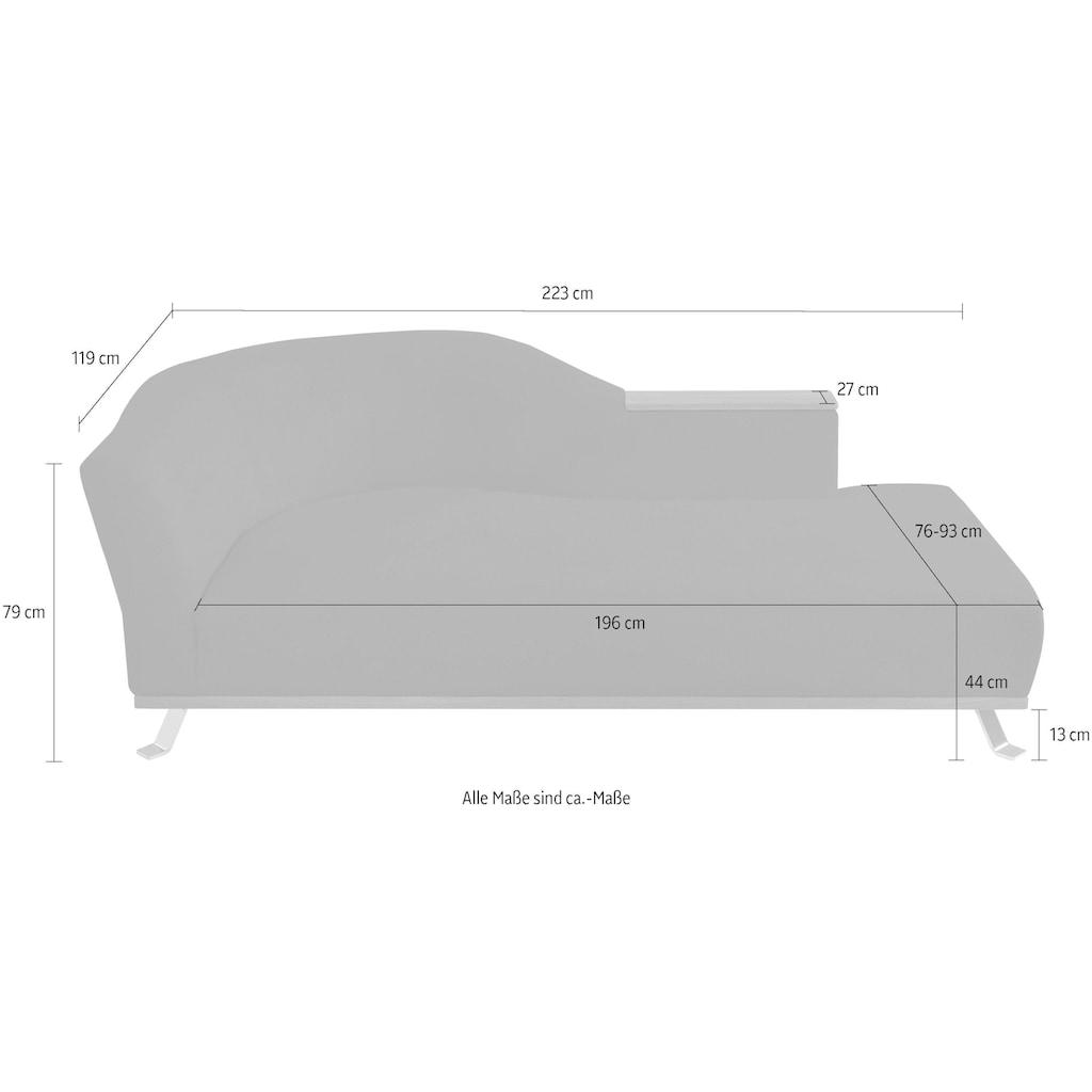 ADA premium Recamiere »Tivoli«, wahlweise links oder rechts bestellbar