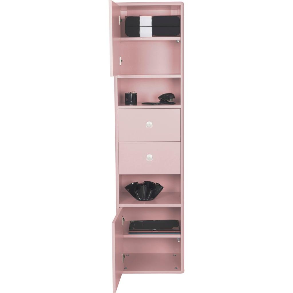 TOM TAILOR Aktenschrank »COLOR OFFICE«, mit 2 Türen & 2 Schubladen, mit Push-to-Open, Breite 40 cm