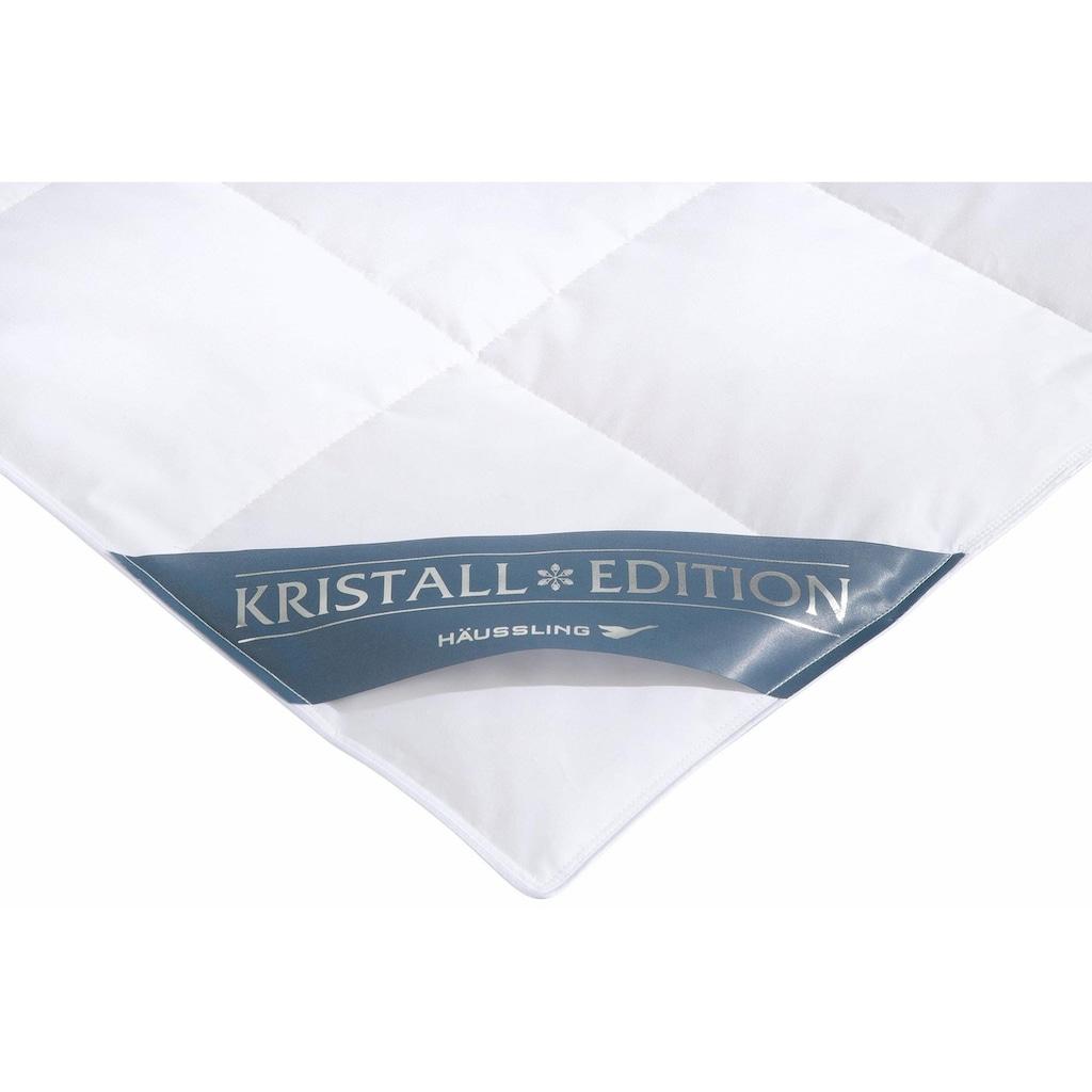 Daunenbettdecke, Leicht, Häussling, »Kristall Edition«