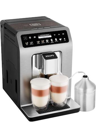 Krups Kaffeevollautomat EA894T Evidence Plus One - Touch - Cappuccino, 2,3l Tank, Kegelmahlwerk kaufen