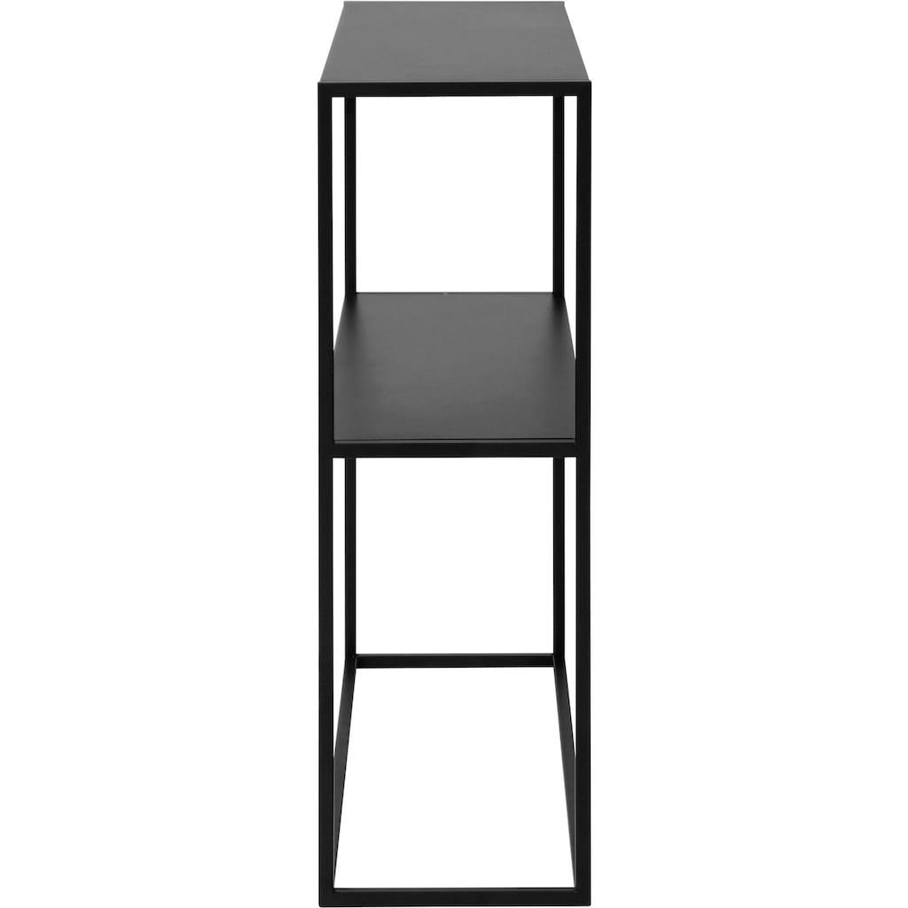 andas Schuhregal »»Vilho««, aus einem schönen, schwarzen Metallgestell in gradliniger Optik, Höhe 80,5 cm
