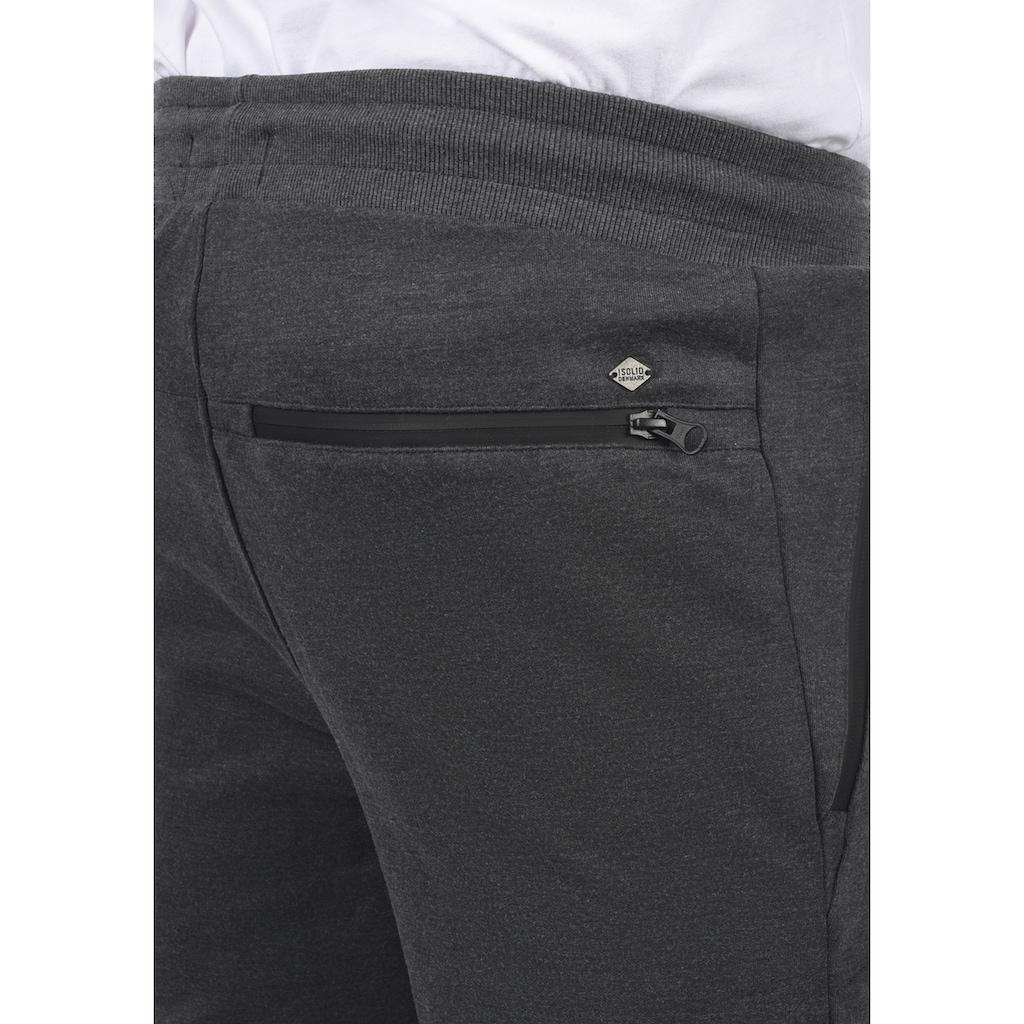 Solid Sweatshorts »21103936«, kurze Hose