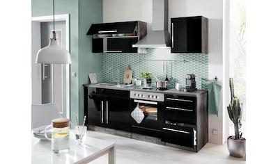 HELD MÖBEL Winkelküche »Samos«, ohne E - Geräte, Stellbreite 230 x 170 cm kaufen