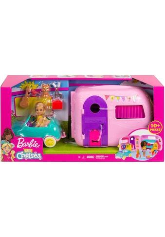 Barbie Puppen Fahrzeug »Chelsea Camper Spielset mit Puppe« kaufen