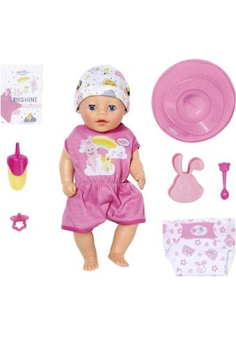 Baby Born Babypuppe »Soft Touch Little Girl« kaufen