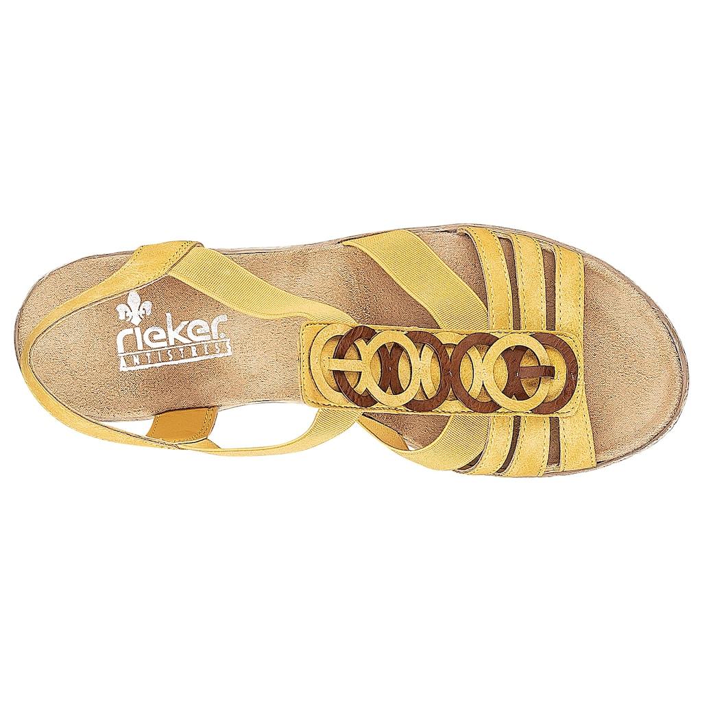 Rieker Sandalette, in eleganter Optik