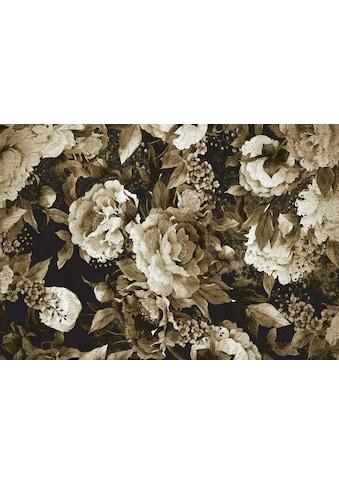 Consalnet Papiertapete »Muster / grüne Blumen«, floral kaufen