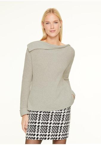 Comma Longpullover, Wollmix-Pullover kaufen