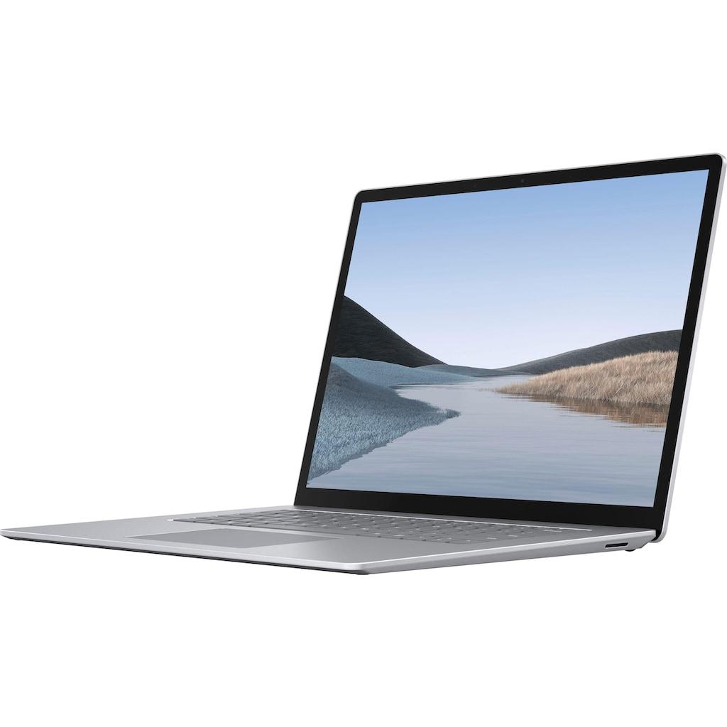 "Microsoft Notebook »Surface Laptop 3 15"" 8GB / 128GB Ryzen 5 Platin Grau«, ( 128 GB SSD)"