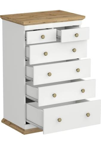 Home affaire Kommode »Banburry«, mit 6 Schubladen kaufen