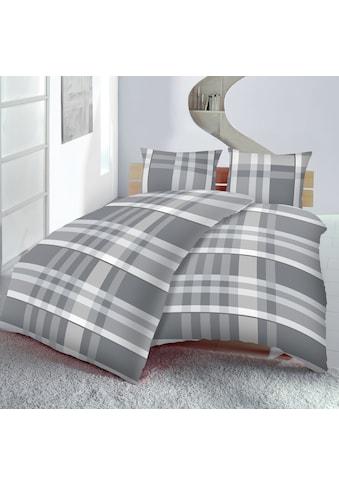 Bettwäsche »6-teiliges Set, Karo, Microfaser« kaufen