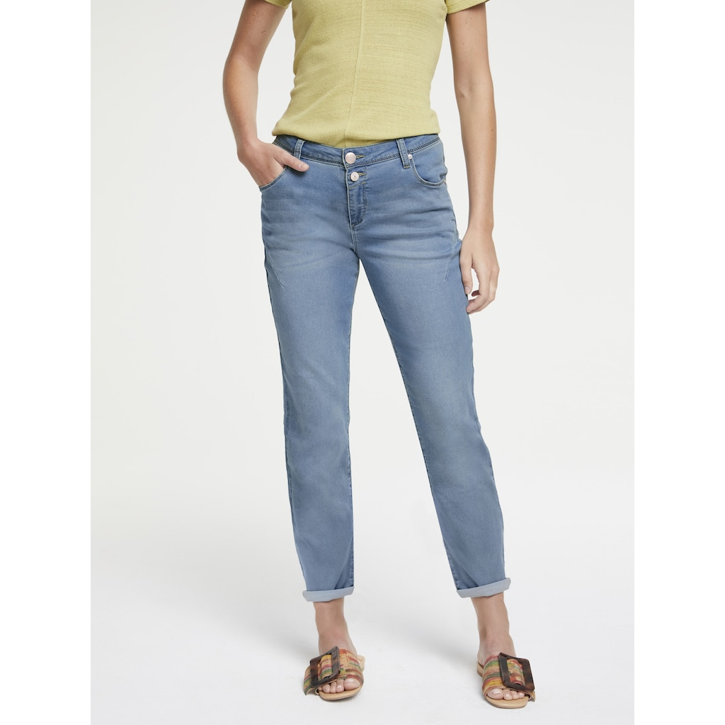 LINEA TESINI by Heine Boyfriend-Jeans, im Boyfriend-Style