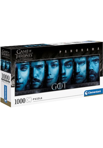 Clementoni® Puzzle »Panorama - Game of Thrones - The Iron Anniversary«, Made in... kaufen