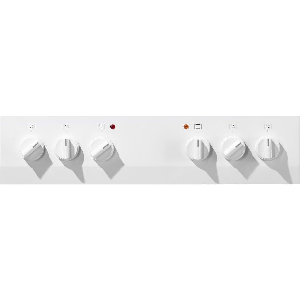 Amica Elektro-Standherd »SHC 11505 W / SHC 11595 E«, SHC 11505 W, SHC 11595 E