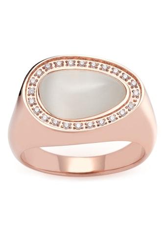 LEONARDO Fingerring »Amisa, 019641, 019642, 019643, 019644«, mit Cat´s Eye, Zirkonia... kaufen