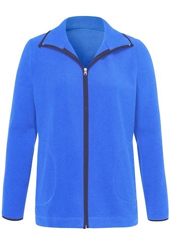 Classic Basics Fleece - Jacke im sportiven Look kaufen