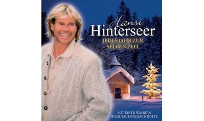 Musik - CD Jedes Jahr Zur Selben Zeit / Hinterseer,Hansi, (1 CD) kaufen