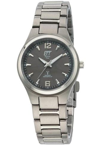 ETT Funkuhr »Everest 2, ELS - 11326 - 11ME« (Set, 2 tlg., Uhr mit Ladelampe) kaufen