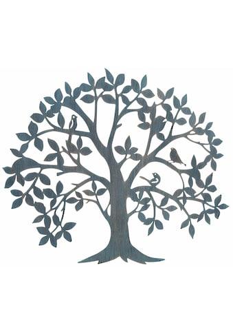 HOFMANN LIVING AND MORE Wanddekoobjekt »Baum«, Wanddeko, aus Metall kaufen