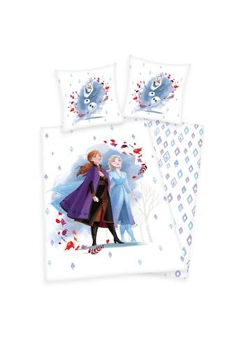Disney Frozen Kinderbettwäsche »Frozen, die Eiskönigin, Baumwoll-Renforcé« kaufen