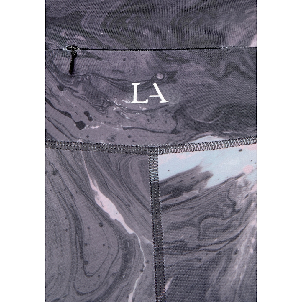 LASCANA ACTIVE Funktionsleggings »Basic Bottoms«, mit kleiner Bundtasche hinten