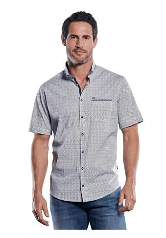Engbers Hemd mit stylischer Musterung im Minimaldesign kaufen