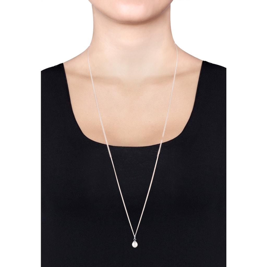 Elli Perlenkette »Süßwasserzuchtperle Klassik 925 Sterling Silber«