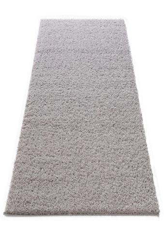 Hochflor - Läufer, »Shaggy 30«, Home affaire, rechteckig, Höhe 30 mm, maschinell gewebt kaufen
