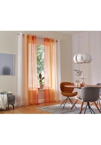 Gardine, »Valverde«, my home, Ösen 2 Stück kaufen