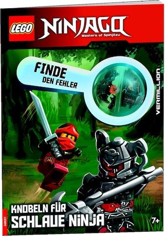 Buch »LEGO® NINJAGO® Finde den Fehler, Knobeln für schlaue Ninja / DIVERSE« kaufen